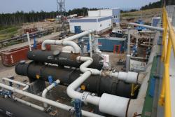 Производственный комплекс по добыче нефти
